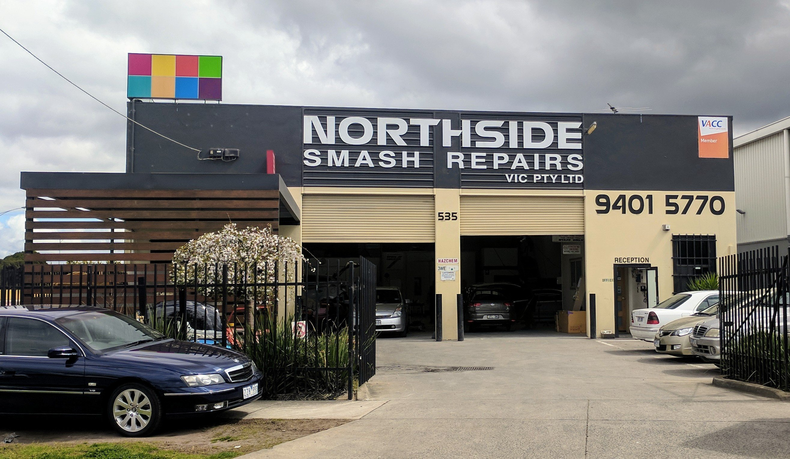 Northside smash repairs Epping